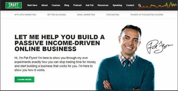 پت فلین - کسب درآمد اینترنتی غیرفعال