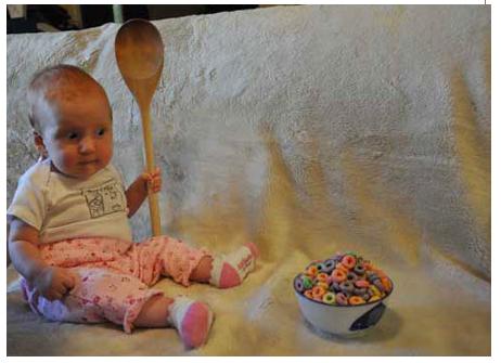 لطفا سوپ داخل دیگ را با قاشق چایی خوری هم نزنید!